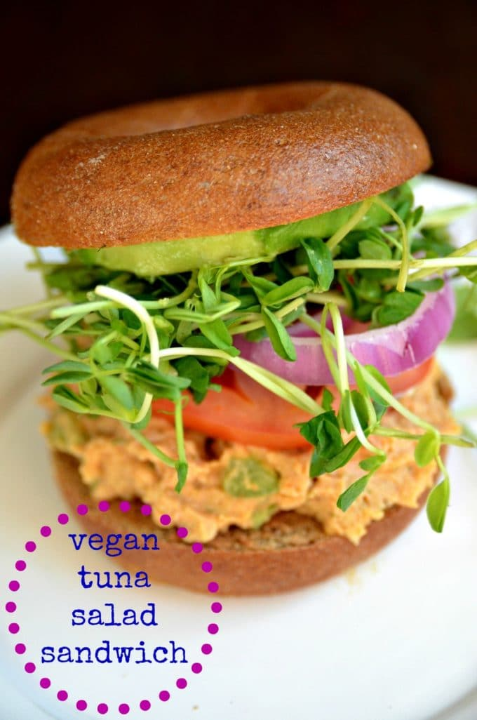 "Tuna Salad"" Sandwich - Blissful Basil"
