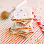 Peanut Butter Cookie Dough Bark | Vegan + Gluten Free