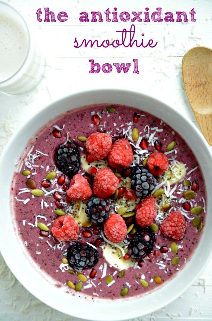 Antioxidant Smoothie Bowl 1