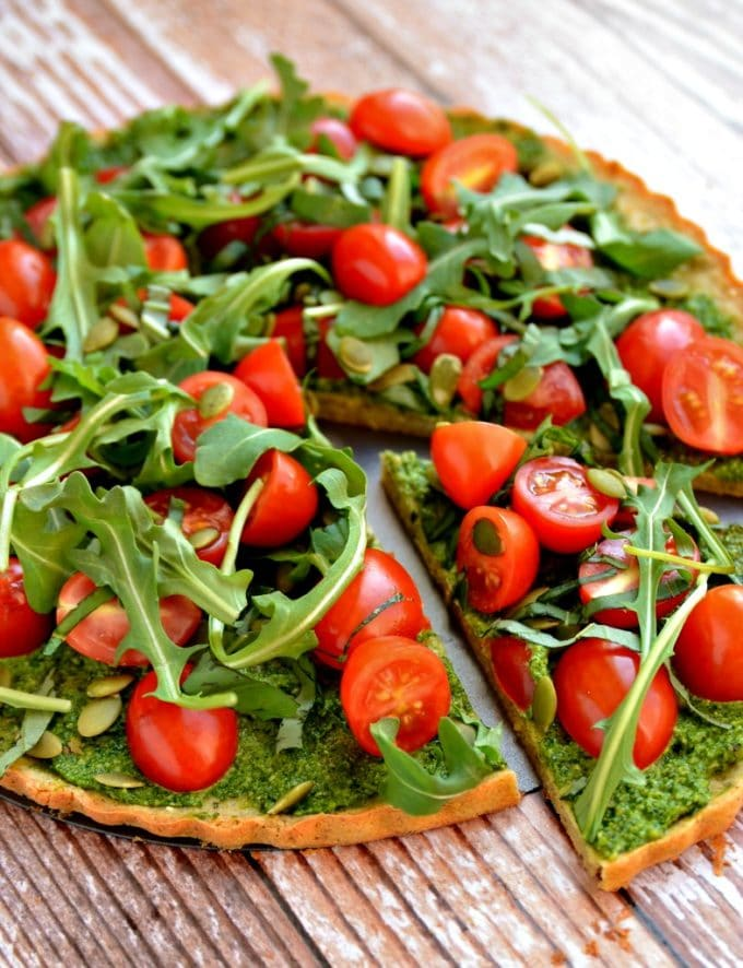 Clean + Green Pizza