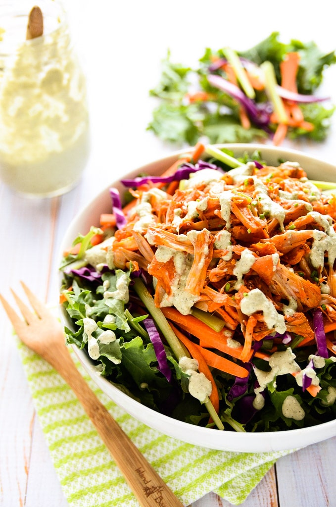 Vegan Buffalo Chicken Salad