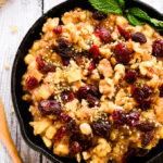 Raw Apple-Cinnamon & Chia Breakfast Bowl
