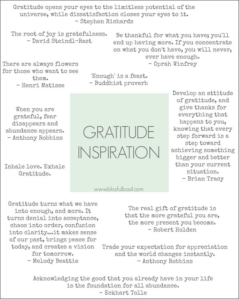 Gratitude Inspiration
