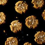 No-Bake Peanut Butter Cookies (vegan, gluten-free)