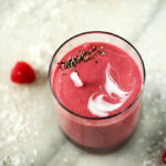 Creamy Raspberry, Coconut & Chia Shake