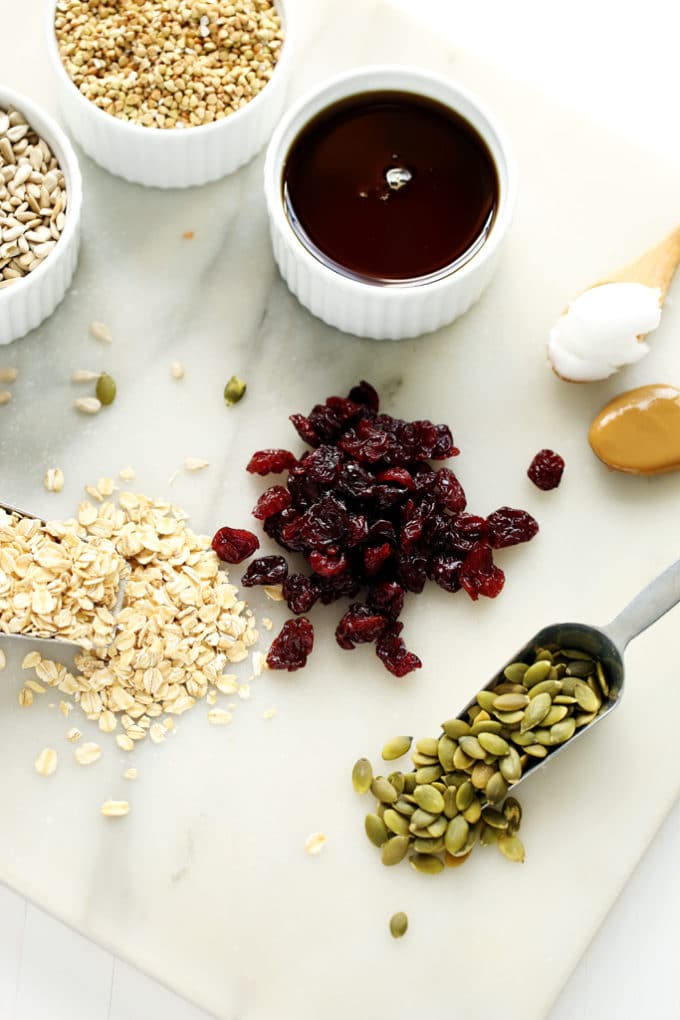 Dried Cherry, Sunflower Butter & Buckwheat Granola | Nut-Free, Gluten ...