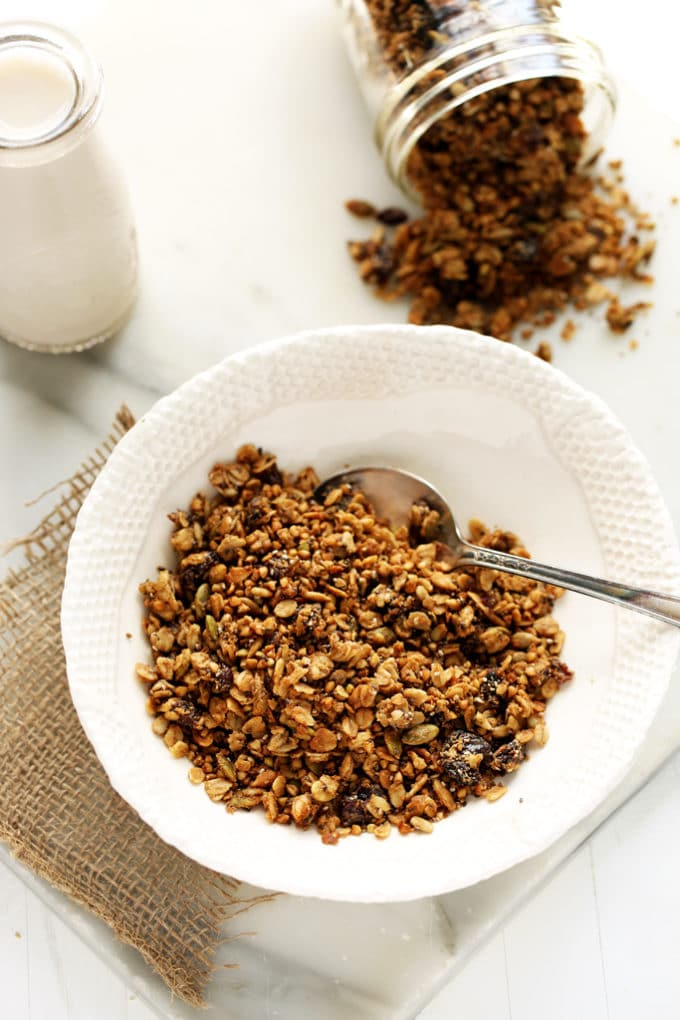 Dried Cherry, Sunflower Butter & Buckwheat Granola | Nut-Free, Gluten ...