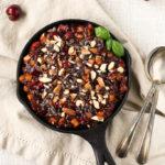 Raw Cherry-Apple Pie Breakfast Bowl