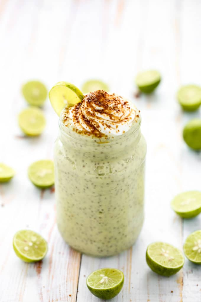 Key Lime Pie Chia Pudding