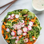 Quick Cucumber Noodle Salad with Tahini-Lime Dressing